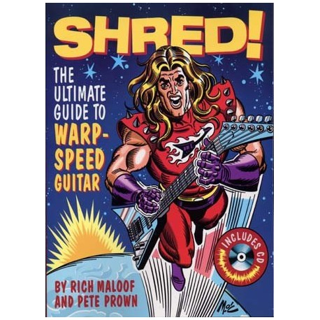 SHRED ULTIMATE GUIDE WARP SPEED GUITAR TAB CD
