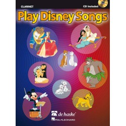 Play Disney Song pour Clarinette avec CD