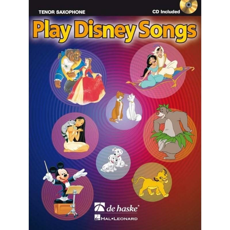 Play Disney Song pour saxophone alto avec CD