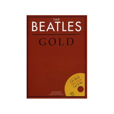 BEATLES ESSENTIAL GOLD COLLECTION PIANO CD