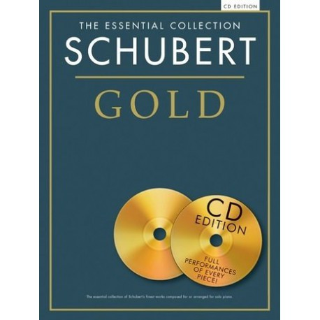 SCHUBERT ESSENTIAL GOLD COLLECTION PIANO CD
