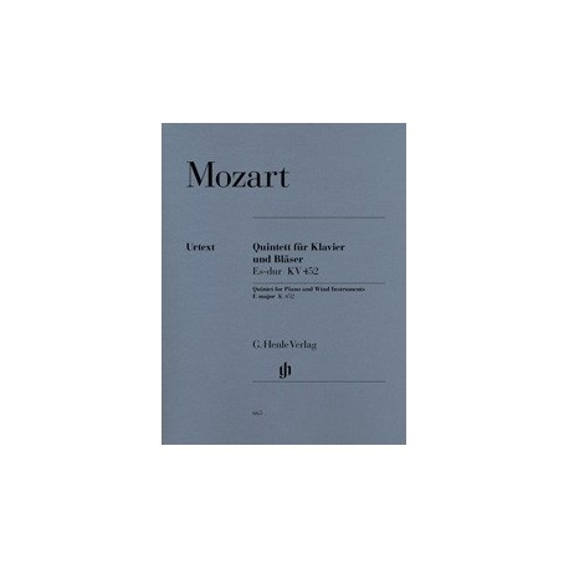 Quintett fur klavier und blaser Esdur KV452 Mozart Melody music caen
