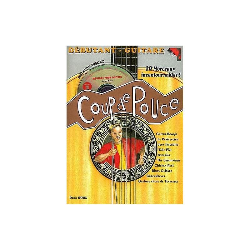 Coup de Pouce GUITARE DEBUTANT V.2 + CD
