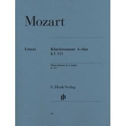 Klaviersonate La majeur KV331 Urtext Mozart