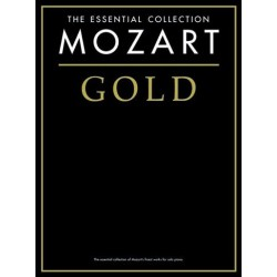 The essential collection Mozart Gold Melody music caen