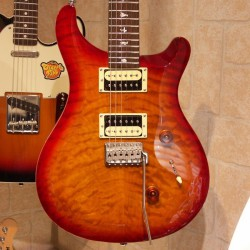 PRS SE Custom 24 Cherry sunburst melodymusic.fr