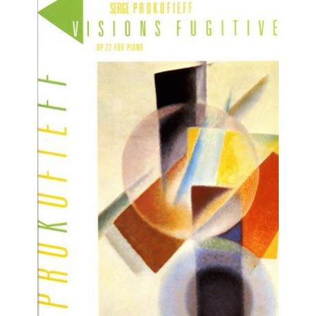 Visions fugitives op22 Serge Prokofieff Melody music caen