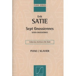 Sept gnossiennes Erik Satie Melody music caen