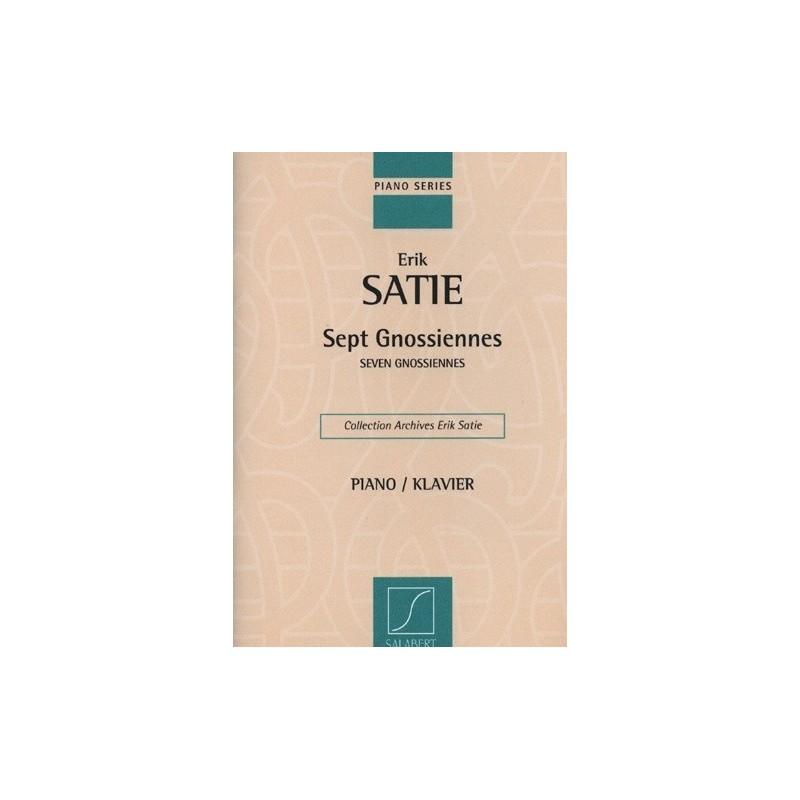 Sept gnossiennes Erik Satie Melody music caen