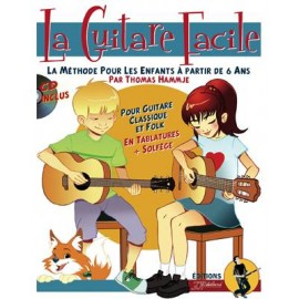 Rébillard La Guitare Facile Methode Enfants