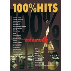100% HITS Vol.4 en PVG, Ed. Carisch