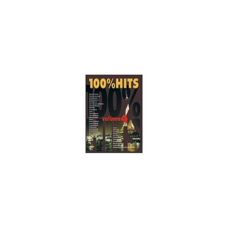100% Hits Vol.4 en PVG éd. Carisch Mélody Music Caen
