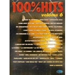 100% HITS Vol.6 en PVG, Ed. Carisch