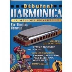 Méthode Débutant Harmonica Rebillard Avec CD