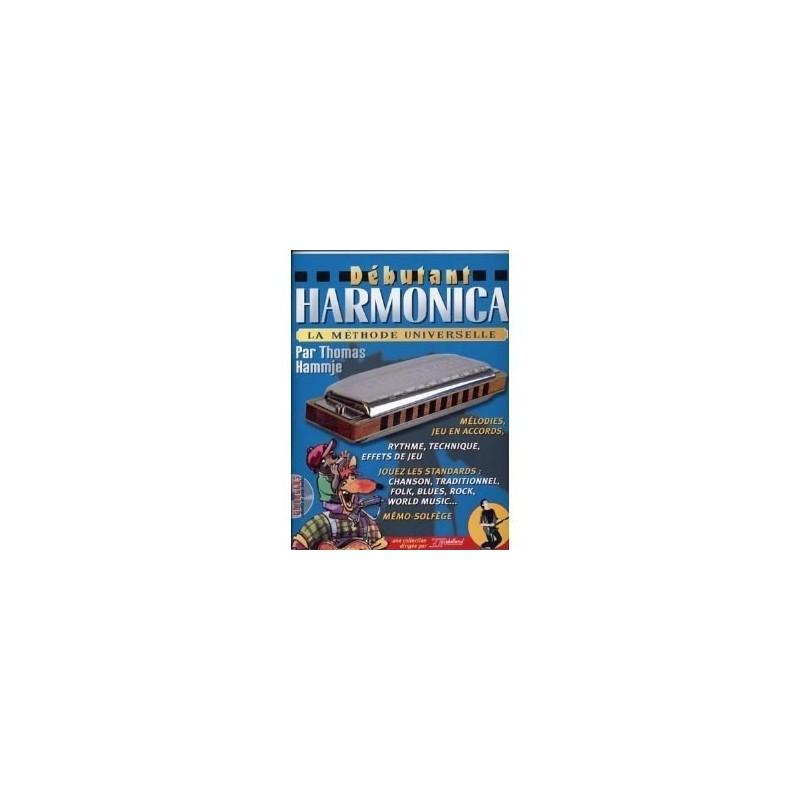 Débutant Harmonica Rebillard Avec CD Melody Music Caen