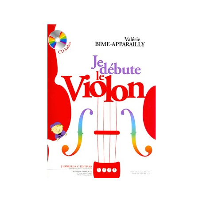 Je débute le violon Vol.1 Melody Music Caen