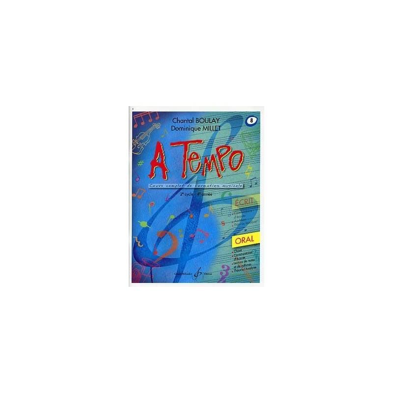 A Tempo Vol 8 Oral 2er cycle 4eme année Melody Music Caen