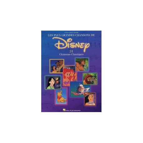 Les plus grandes chansons de Disney Piano Chant Guitare Melody Music Caen
