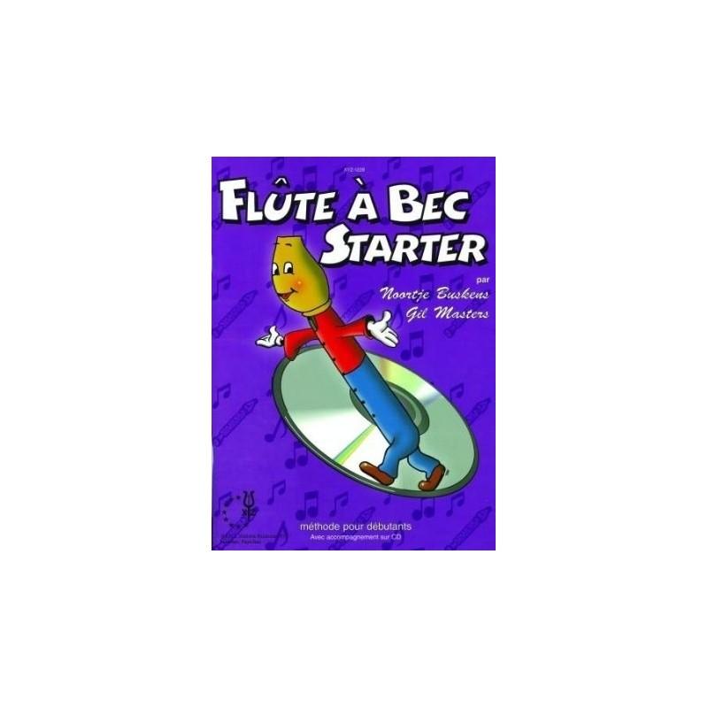 Flute a bec starter vol1 avec CD Melody Music Caen