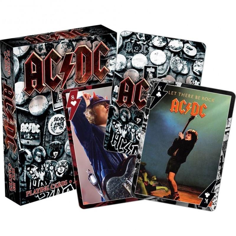 AC/DC Cartes a jouer Melody Music Caen