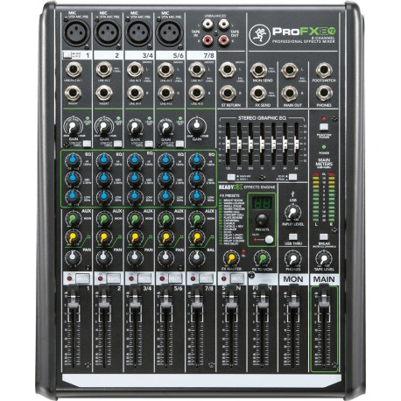 MACKIE PROFX8 V2 Melody Music Cean