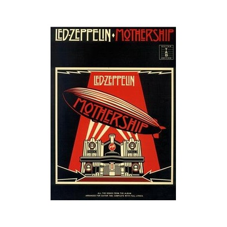 Led Zeppelin Mothership Ed Wise Publications Melody music caen
