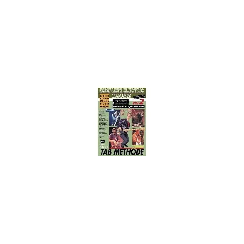 Complete Electric Bass Vol.2 avec CD Melody Music Caen