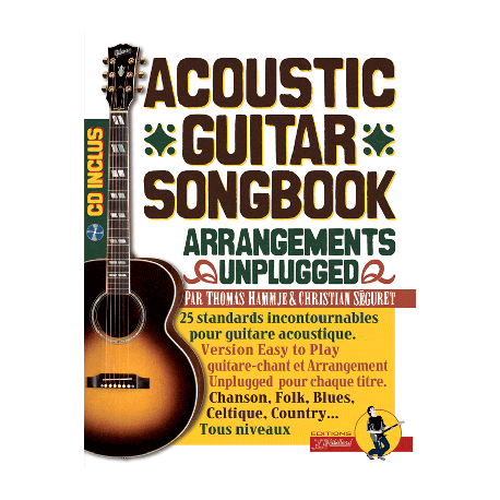 Acoustic Guitar Songbook avec CD Melody Music Caen