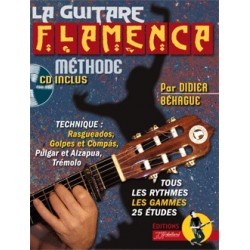 Methode La Guitare Flamenca avec CD
