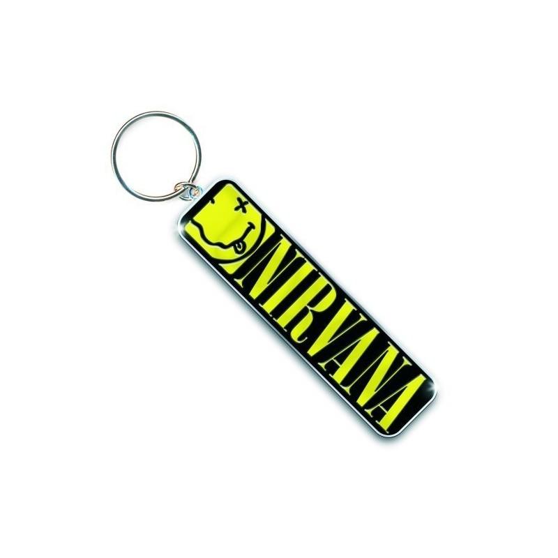 Porte clé Nirvana Smiley & Logo Melody Music Caen