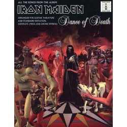 Iron Maiden Dance of Death Ed Wise Publications Melody music caen