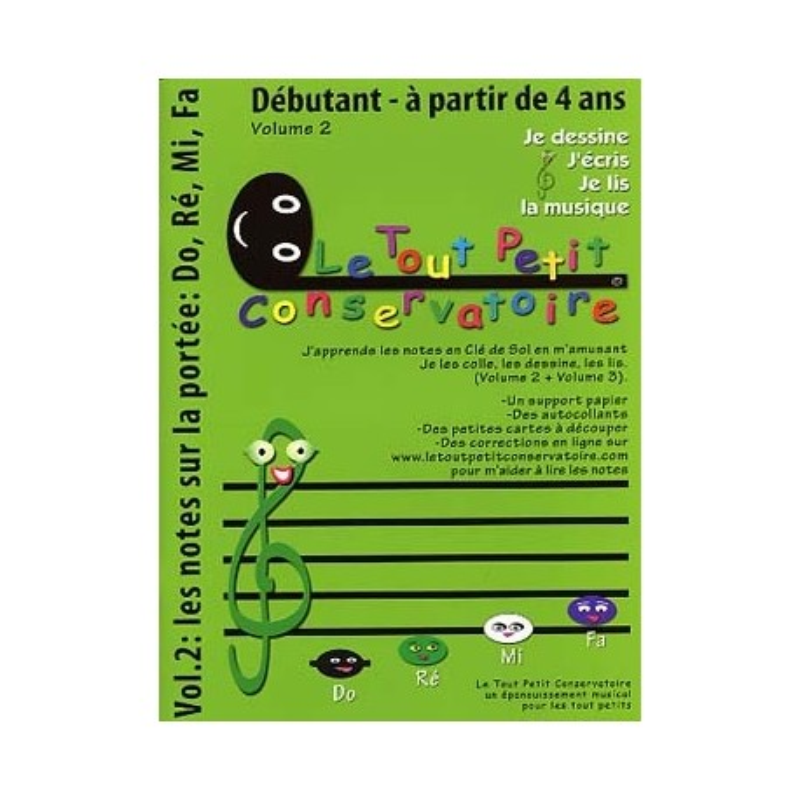 Je Dessine, j'Ecris, Je Lis la musique Volume 2