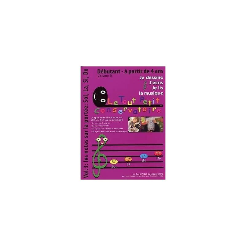 Je Dessine, j'Ecris, Je Lis la musique Volume 3