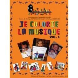 Je colorie la musique Vol.1