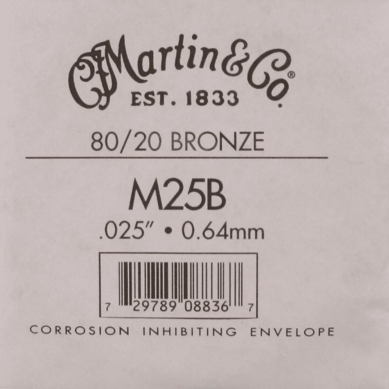 Martin Corde unités 025 Filé Bronze