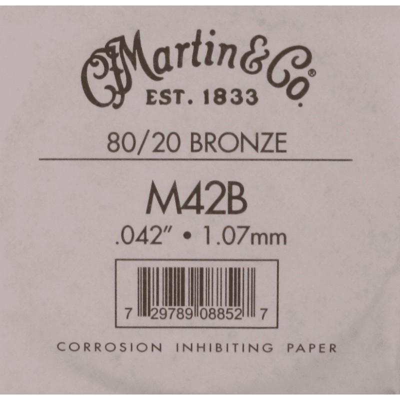 Martin Corde unités 042 Filé Bronze
