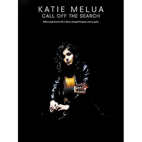 Katie Melua Call of the search Ed Wise Publications Melody music caen
