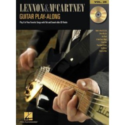 Guitar Play Along Lennon&Mc Cartney Vol25 Melody music caen