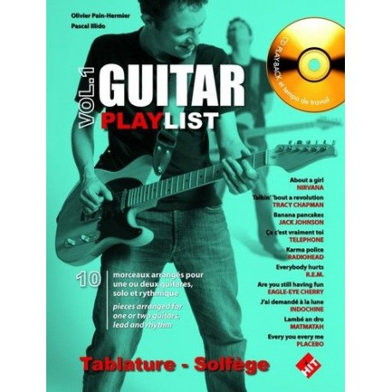 Guitar Playlist Vol1 Ed Hit Diffusion Melody music caen