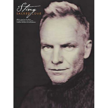 Sting Sacred love Ed EMI Melody music caen