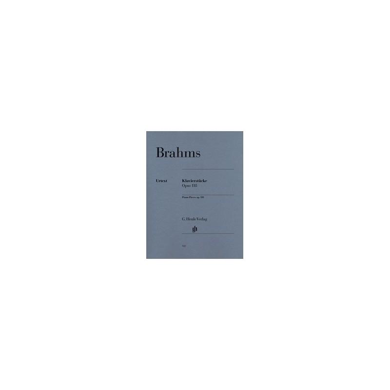 Klavierstucke op118 Urtext Brahms HN122 Melody music caen