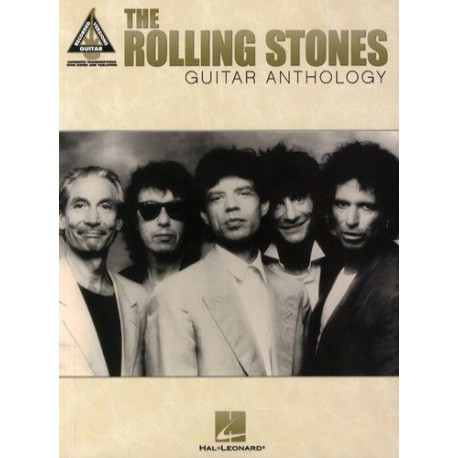 The Rolling Stones Guitar Anthology Ed Hal Leonard Melody music caen