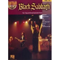 Play Along Guitar Vol67 Black Sabbath Ed Hal Leonard Melody music caen