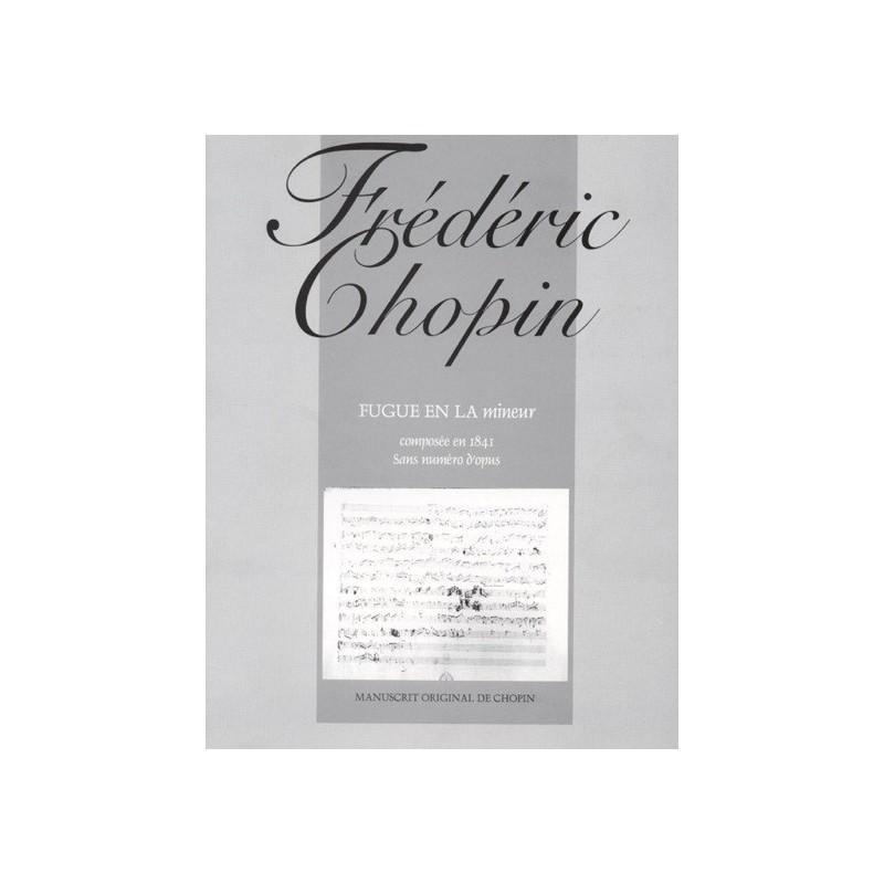 Fugue en La mineur Frédéric Chopin Melody music caen
