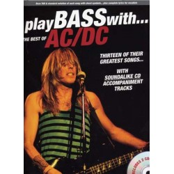Play Bass with...the best of AC/DC Ed Wise Publications