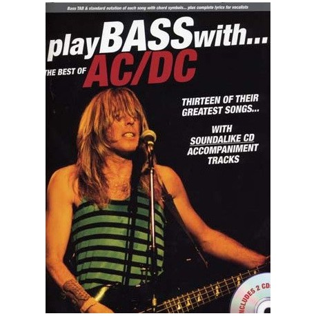 Play Bass with...the best of AC/DC Ed Wise Publications Melody music caen