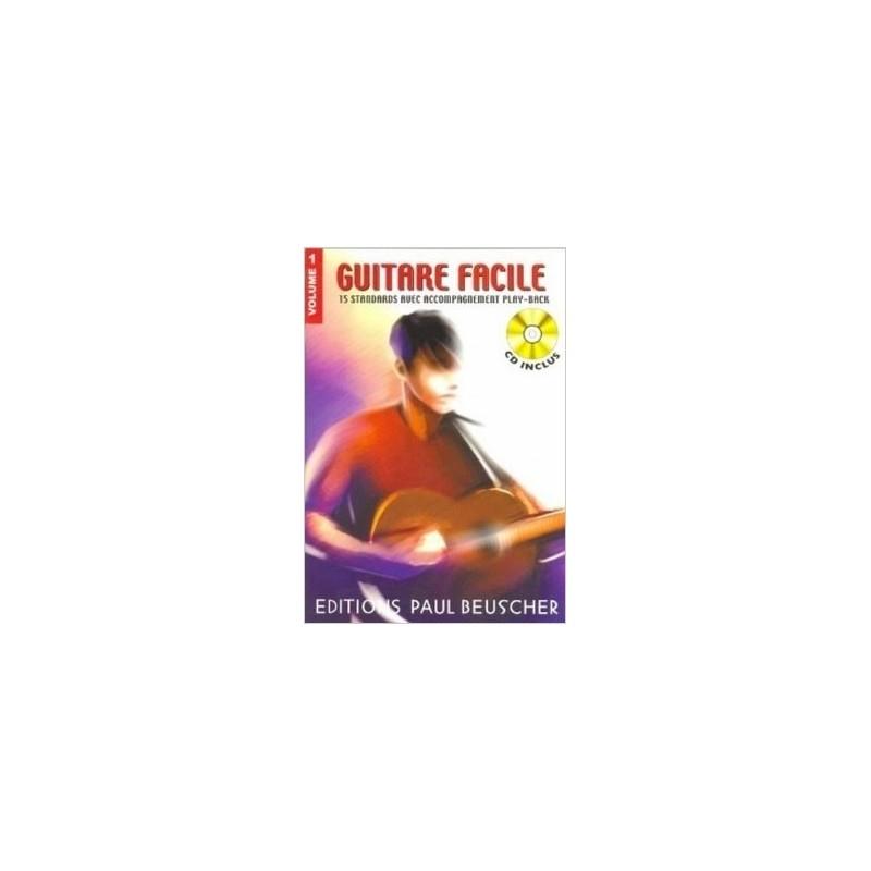 Guitare Facile Vol1 Ed Paul Beuscher Melody music Caen