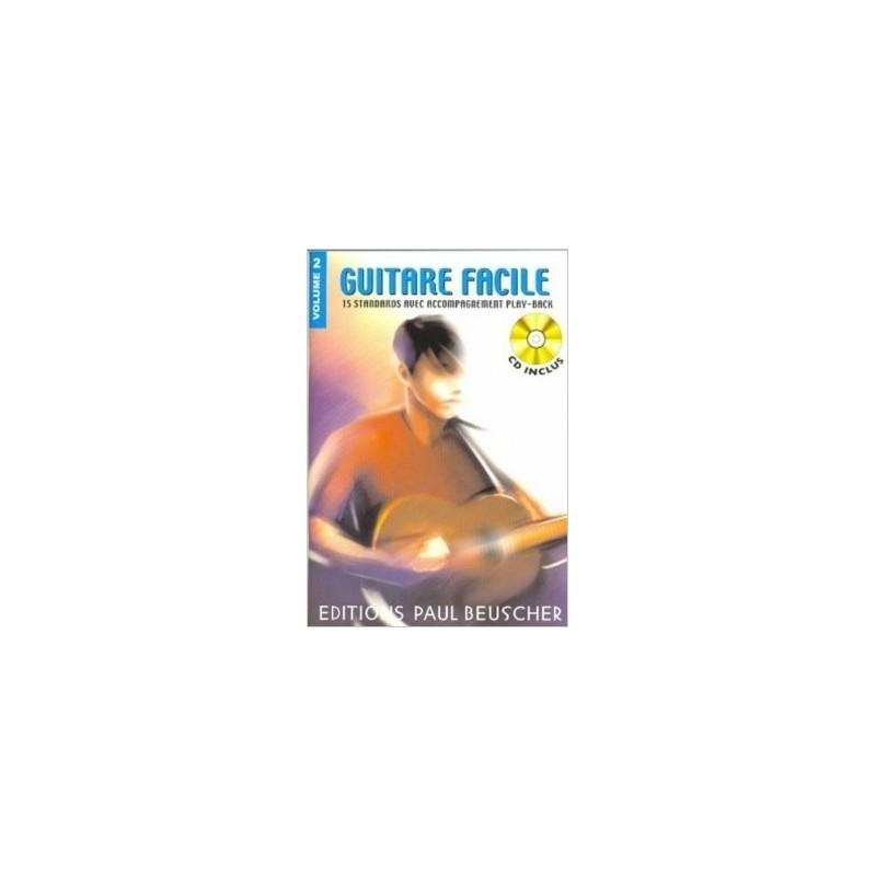 Guitare facile Vol2 Ed Paul Beuscher Melody Music Caen