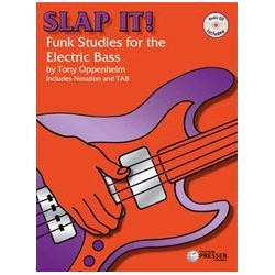 Slap it Funk Studies for the electric bass Ed Theodore Presser Melody music caen