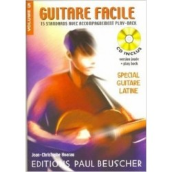 Guitare Facile Vol5 Spécial Guitare Latine Ed Paul Beuscher